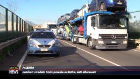 Palermo. Incidenti stradali, triste primato in Sicilia: dati allarmanti