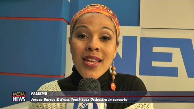 Palermo. Jerusa Barros e la Brass Youth Jazz Orchestra al teatro Santa Cecilia