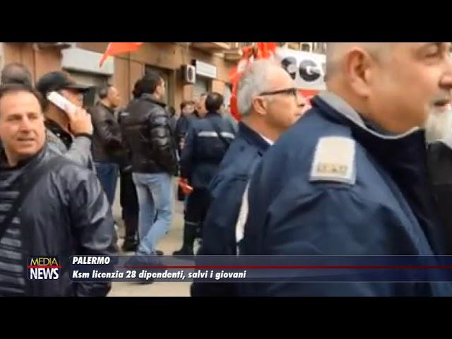 Palermo. Ksm licenzia 28 dipendenti, salvi i giovani