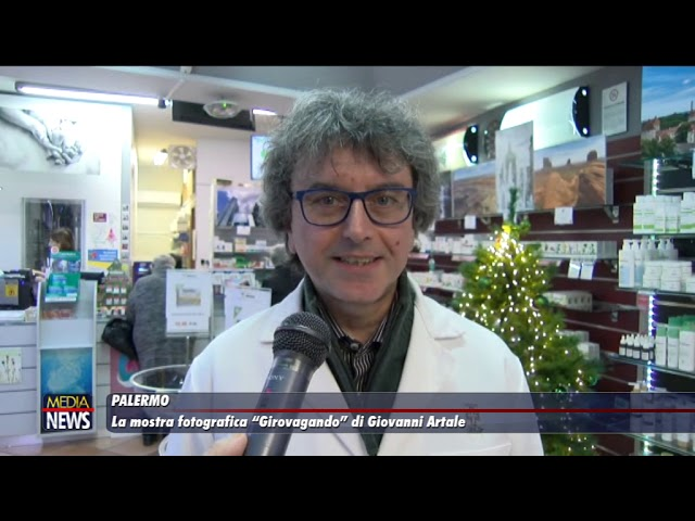 """Palermo. La mostra fotografica """"Girovagando"""" di Giovanni Artale"""