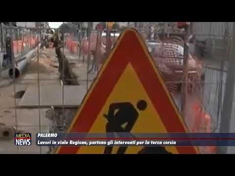 Palermo. Lavori in viale Regione, partono gli interventi per la terza corsia