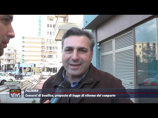 Palermo. Legge di riforma del comparto dei Consorzi di bonifica