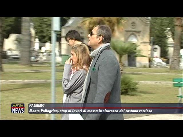 Palermo. Monte Pellegrino, stop ai lavori di messa in sicurezza del costone roccioso