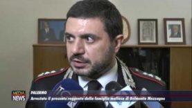 Palermo. Operazione antimafia a Belmonte. Le interviste al comando provinciale dei carabinieri