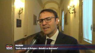 """Palermo. Presentazione del libro: """"Dalla strage di Bologna – Quindici su Quaranta"""""""