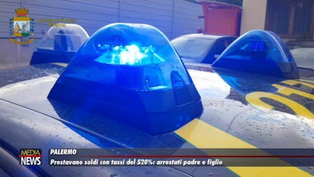 Palermo. Prestavano soldi con tassi del 520%, arrestati padre e figlio