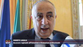Palermo. Protocollo d'intesa tra Nicolò Mannino e Roberto Lagalla