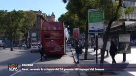 Palermo. Revocato lo sciopero Amat. Gli impegni del Comune
