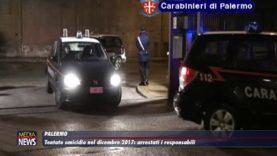 Palermo. Tentato omicidio nel 2017, arrestati i responsabili