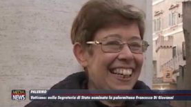 Palermo. Vaticano: nella Segreteria di Stato nominata la palermitana Francesca Di Giovanni