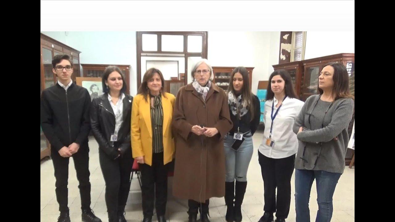 """SICILIA SERA Speciale Scuola – Filippo CUCINA all'Istituto Tecnico """"Filippo Parlatore"""" di Palermo."""