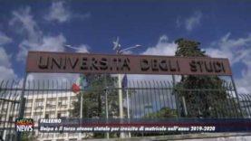 Unipa è il terzo ateneo statale per crescita di matricole nell'anno 2019-2020