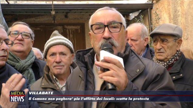 Villabate. Club degli Anziani in protesta