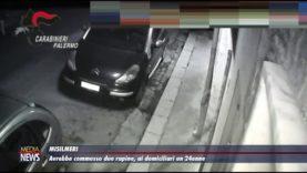 Accusato di essere un rapinatore seriale, giovane arrestato a Milmeri