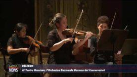 Al Teatro Massimo di Palermo, l'Orchestra Barocca dei Conservatori