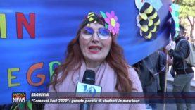"""Bagheria. """"Carneval Fest 2020"""": grande parata di studenti in maschera"""