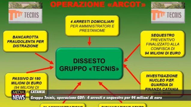 Catania.Gruppo Tecnis, operazione Gdf: 4 arresti e sequestro milionario