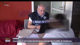 Catania. Lavoravano in nero in una casa di riposo e percepivano il reddito di cittadinanza
