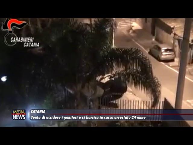 Catania. Tenta di uccidere i genitori e poi si barrica in casa: arrestato