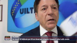 Da lunedì 24 febbraio per 24 ore fermi i trasporti veloci sullo stretto di Messina