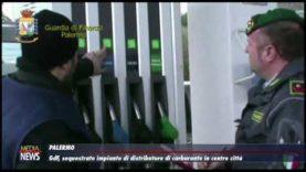 GdF. Sequestrato a Palermo un distributore di carburanti