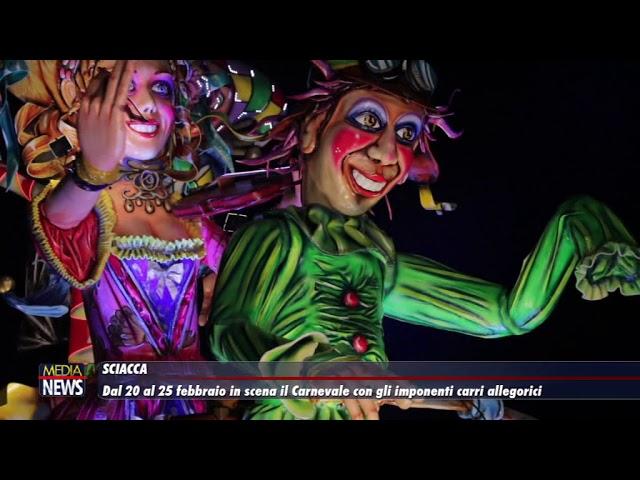 Il Carnevale Sciacca dal 20 al 25 febbraio