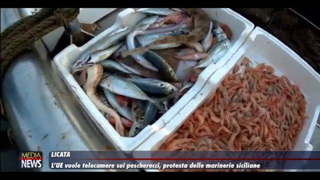 Licata. L'Europa vuole le telecamere sui pescherecci, marinerie siciliane in protesta