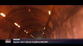 Messina. Regione: oltre 2 milioni per le gallerie della Messina-Palermo
