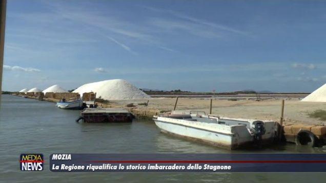 Mozia. La Regione riqualifica lo storico imbarcadero dello Stagnone