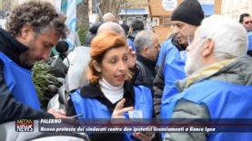 Nuova protesta dei sindacati contro due ipotetici licenziamenti a Banca Igea