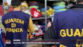 Palermo. Carnevale. Gdf: Sequestrati oltre 400 mila prodotti non sicuri