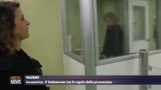 Palermo. CORONAVIRUS. Il vademecum con le regole di prevenzione