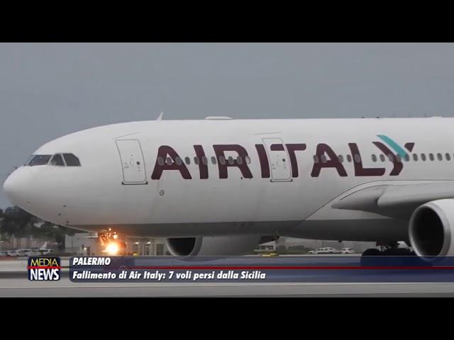 Palermo. Fallimento di Air Italy: 7 voli persi dalla Sicilia