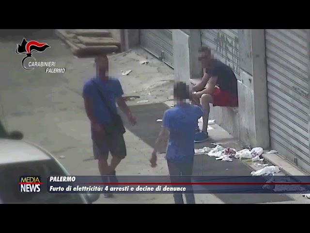 Palermo. Furto di elettricità: 4 arresti e decine di denunce