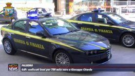 Palermo. GdF. Confiscati beni per 700 mila euro a Giuseppe Citarda