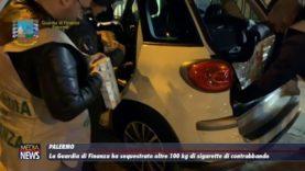 Palermo. GdF sequestra oltre 100 hg di sigarette di contrabbando