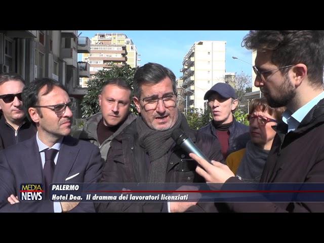 Palermo. Hotel Dea. Il dramma dei lavoratori licenziati
