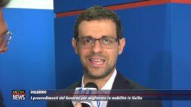Palermo. I provvedimento del Governo per migliorare la mobilità in Sicilia