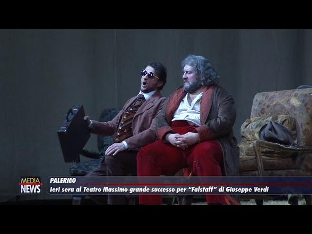 """Palermo. Ieri sera al Teatro Massimo grande successo per """"Falstaff"""" di Giuseppe Verdi"""