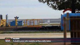 Palermo. Incendio al Parco della Salute, distrutta una giostra