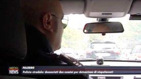 Palermo. La Polizia stradale denuncia due uomini per detenzione di droga