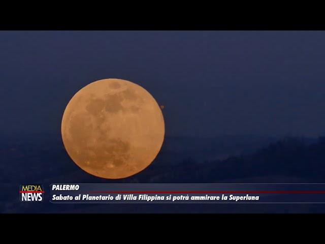 Palermo. Sabato al Planetario di Villa Filippina si potrà ammirare la Superluna
