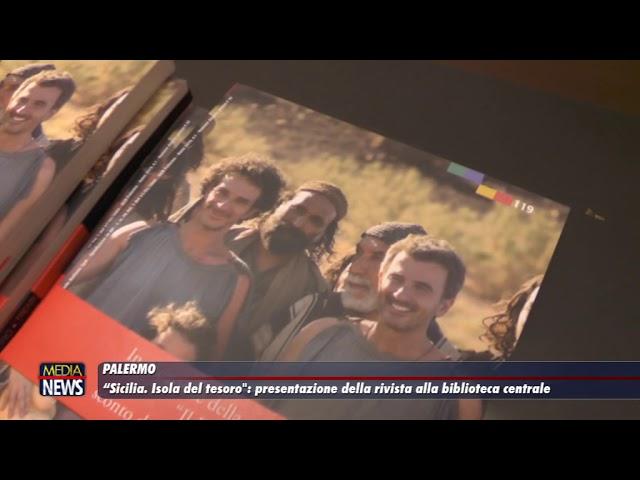 """Palermo. """"Sicilia. Isola del tesoro"""": presentazione della rivista alla biblioteca centrale"""