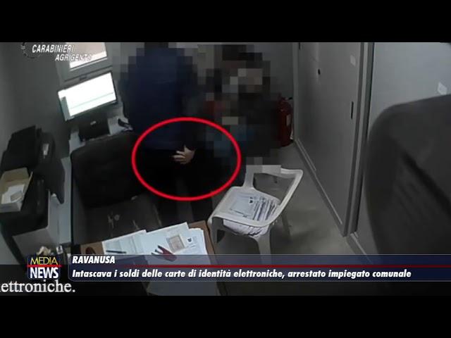 Ravanusa. Intascava i soldi delle carte di identità elettroniche, arrestato impiegato comunale