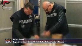 Sequestri sostanze dopanti in tutta Italia, indagati anche a Messina