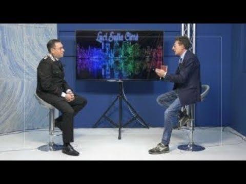 """Settima puntata di """"Luci sulla città """", in studio il tenente colonnello Michele Monti"""