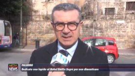A Palermo dedicata una lapide al Premio Nobel Emilio Segrè