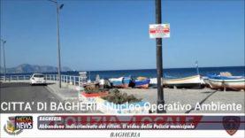 Bagheria. Abbandono indiscriminato dei rifiuti. Il video della Polizia munipale