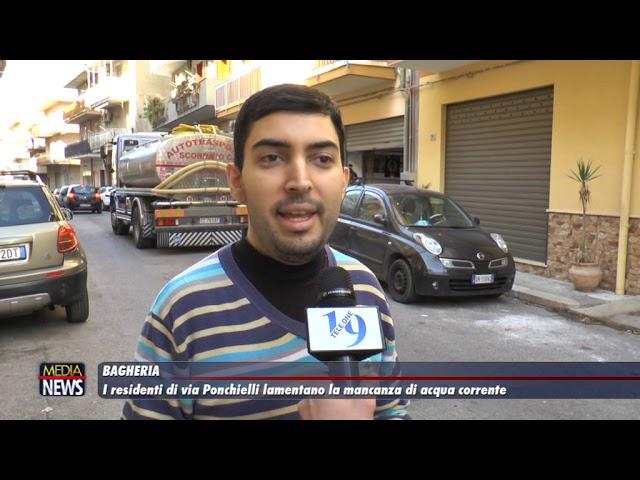 Bagheria. I residenti di Via Ponchielli lamentano la mancanza di acqua corrente