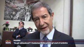"""""""Borghi abbandonati"""": Fondazione Sicilia premia gli studi di fattibilità"""